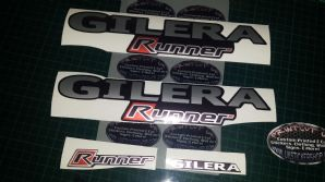 Gilera Runner Printed Sticker Set